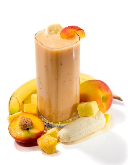 peach mango banana smoothie ingredients 1 peach sliced 1 mango