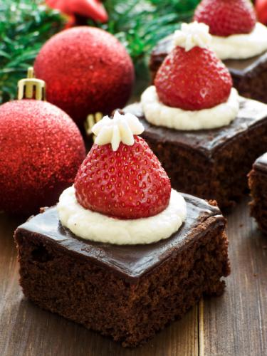 Creative christmas dessert recipes slideshow for Pics of christmas desserts