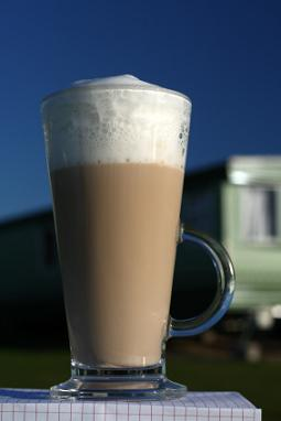 mocha with amaretto
