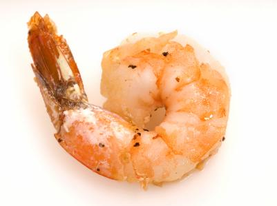 Shrimp is key for this delicious dish.