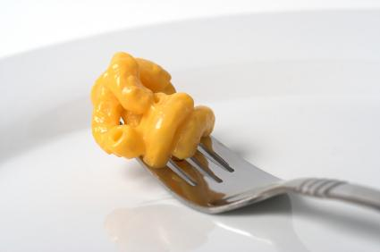 Macaroni and cheese is a favorite.