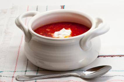 Russian Beet Soup