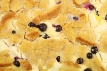 Blueberry French Toast Casserole; Copyright Andi Berger at Dreamstime.com