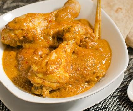 Coconut Curry Chicken Drumsticks With Sweet Potatoes