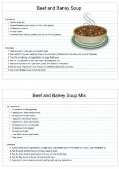 Beef and barley soup mix