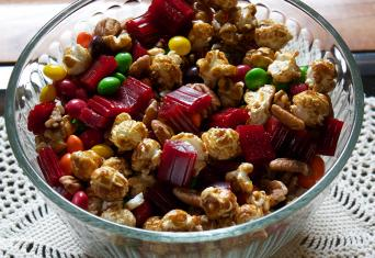 chewy candy trail mix