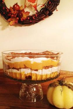 Pumpkin-Ginger Harvest Trifle