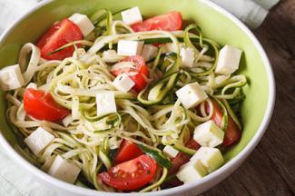 Pasta zucchini salad