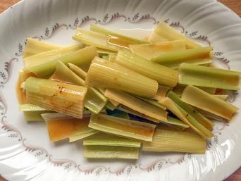Braised celery