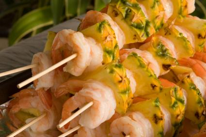 Shrimp Kebobs