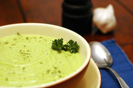 Cold Avocado Soup
