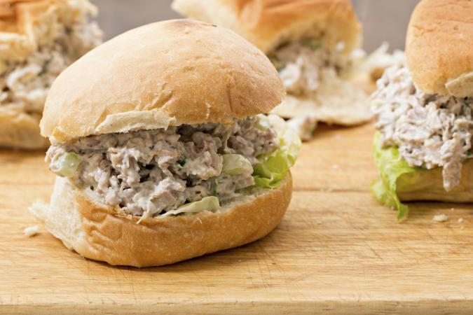 Mini Turkey Salad Sandwiches