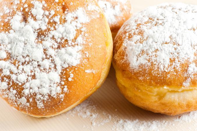 Sugary doughnut