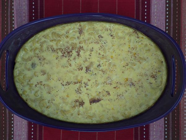 Macaroni pudding
