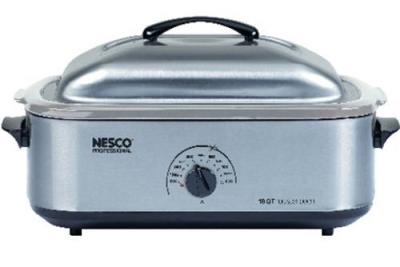 Nesco 18-Quart Stainless Steel Roaster Oven