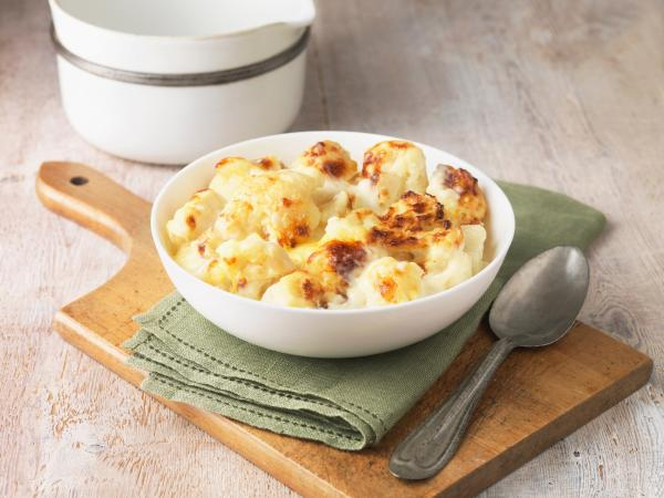 cheesy cauliflower dish
