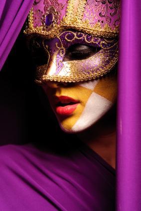 Women Wearing Masquerade Masks