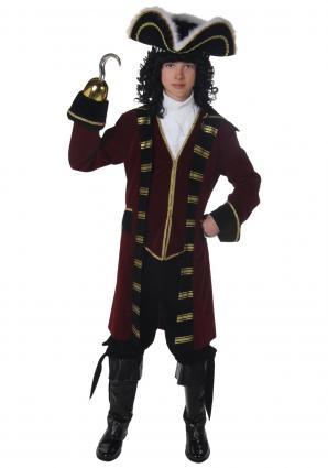 Teen Captain Hook costume at Amazon.com