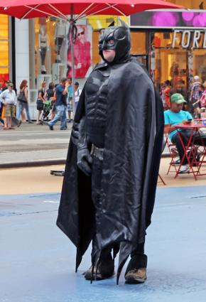 Batman costume; © Mira Agron | Dreamstime.com