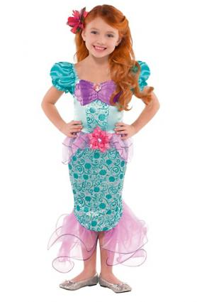 Girls ariel costume from party city
