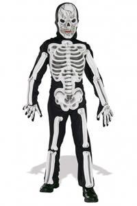 kid's skeleton costume