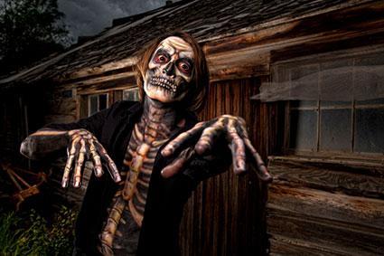 Haunted House Skeleton Costume
