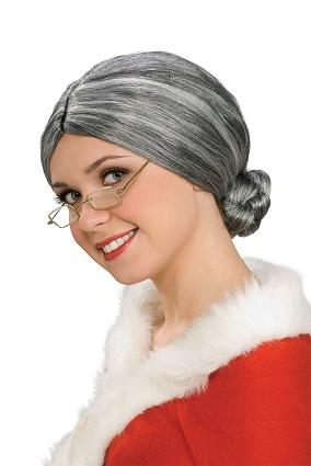 Mrs Claus wig from Amazon.com