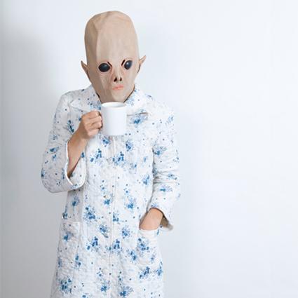 Robed Alien