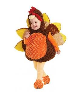 Underwraps Baby's Turkey Belly Costume