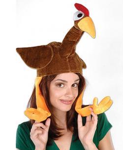 Plush Gobbler Hat