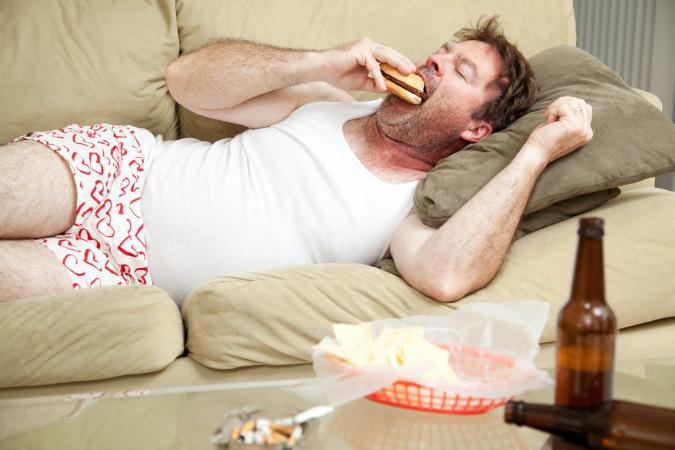 Lazy slob