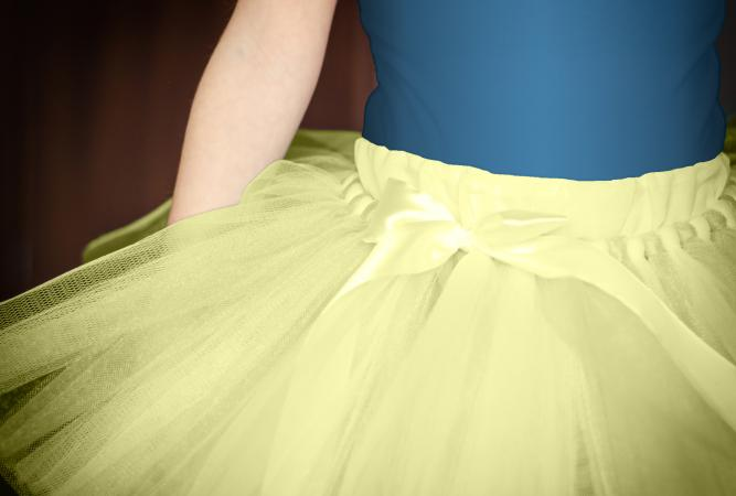 DIY Snow White tutu