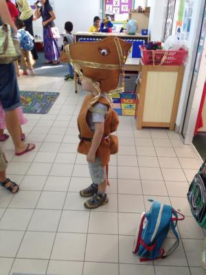 DIY camel costume