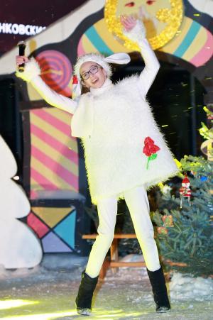 child in sheep costume