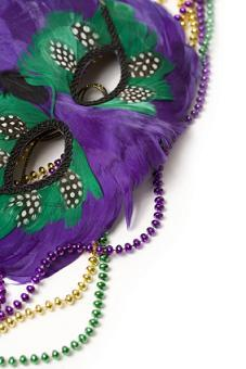 Mardi Gras Masks - Fancy Faces - Maria Masks - Ceramic Masks