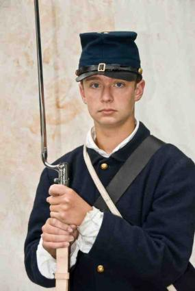 Confederate Soldier Halloween Costume