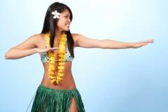Hawaiian Luau Costume Photos