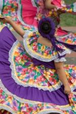 Mexican Dancer in Costume