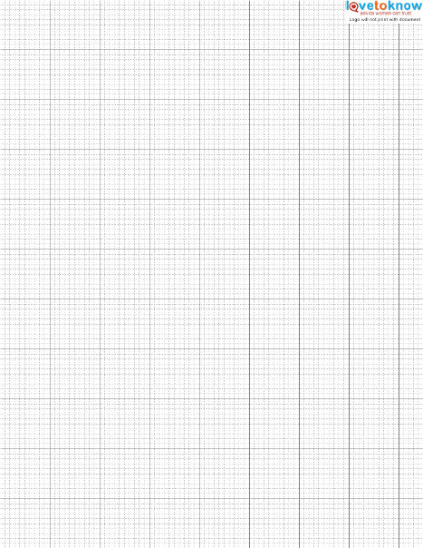 Finding And Using Free Cross Stitch Graph Paper