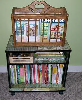 decoupage cart