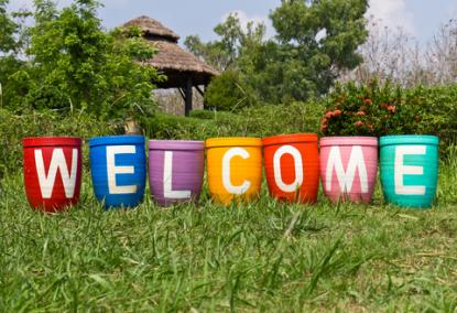 Welcome pots; Copyright Songsak Paname at Dreamstime.com