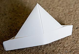 Origami Pirate Hat