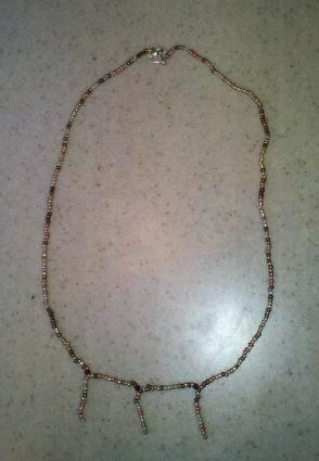 Seed beads make great handmade jewelry.