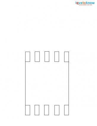 Creeper card template