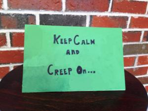 Creeper card front
