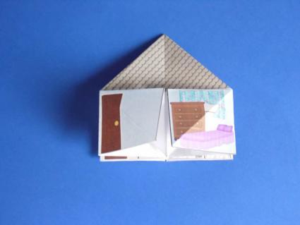 4 room dollhouse - step 2