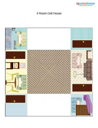 dollhouse furniture printables 3