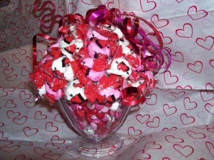 ice cream sundae candy bouquet