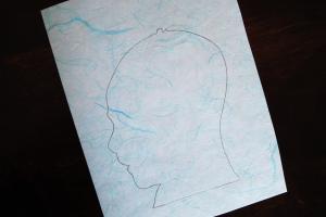 pencil tracing