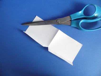 v-fold pop up step 01